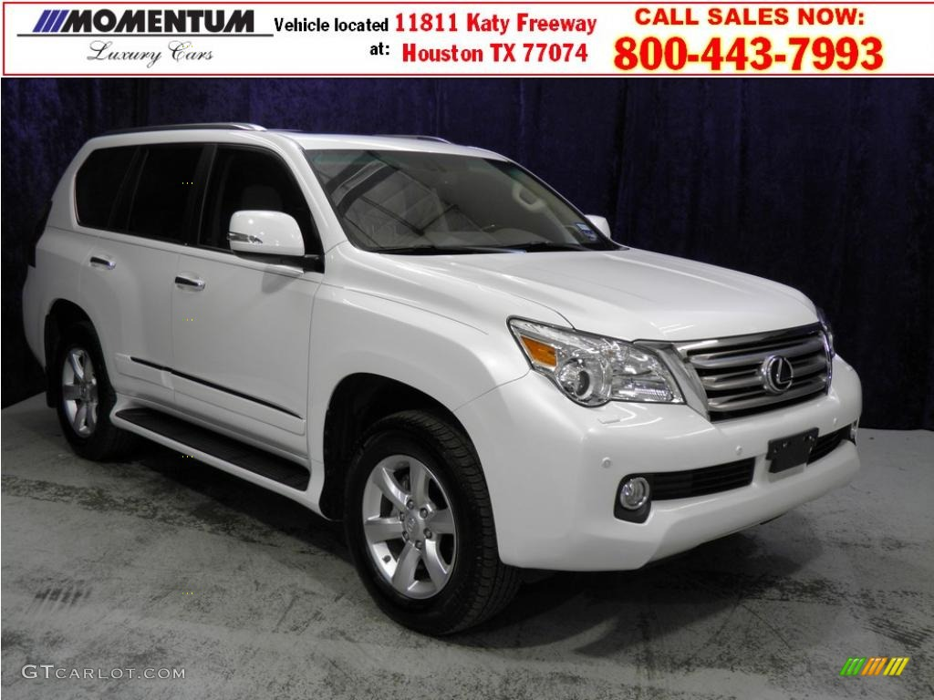 2010 starfire white pearl lexus gx 460 48328558. Black Bedroom Furniture Sets. Home Design Ideas