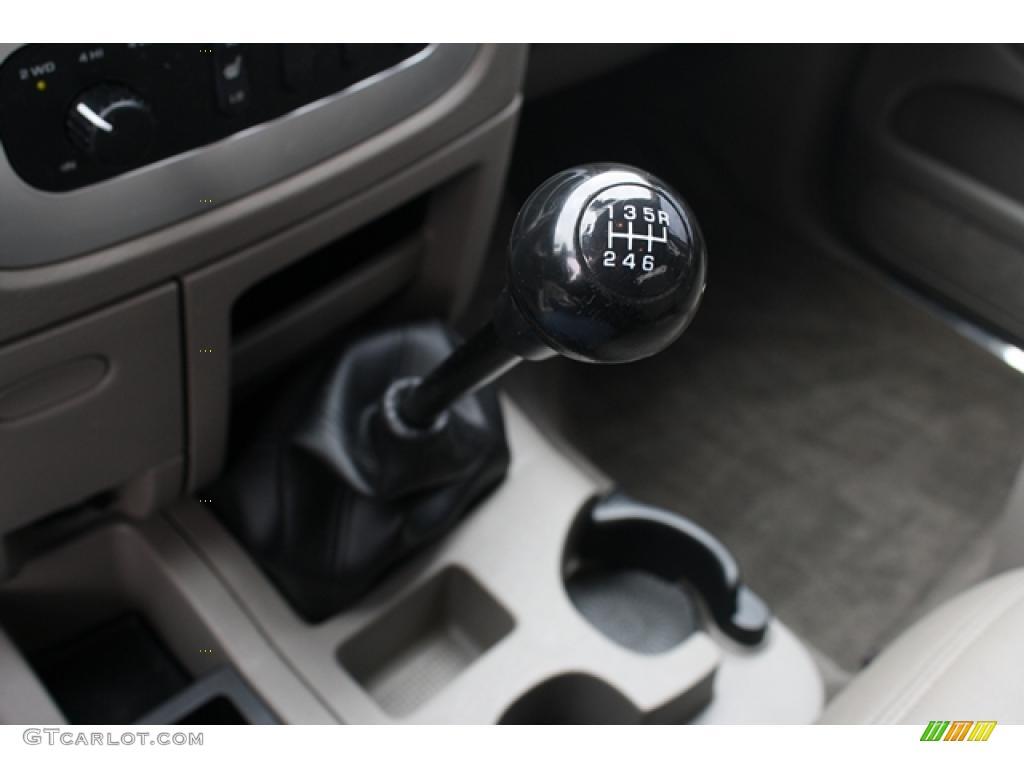 2005 Dodge Ram 3500 Laramie Quad Cab 4x4 6 Speed Manual Transmission ...