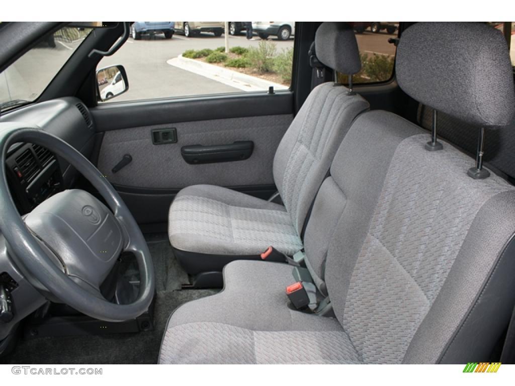 Gray Interior 1995 Toyota Tacoma V6 Extended Cab 4x4 Photo
