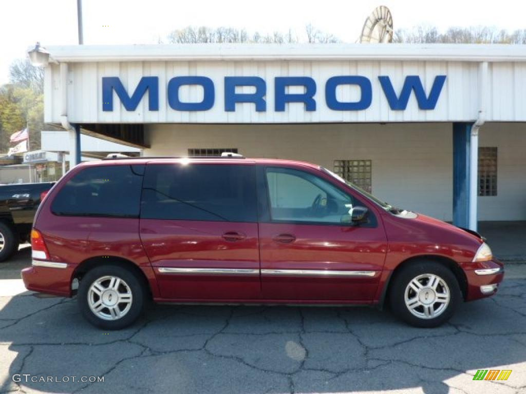 2002 matador red metallic ford windstar se 48328384 gtcarlot com car color galleries gtcarlot com
