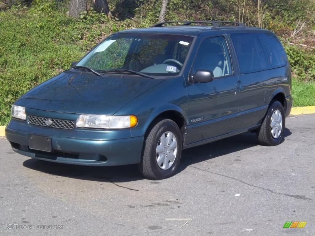1997 caribbean blue metallic nissan quest xe 48328585 gtcarlot com car color galleries gtcarlot com