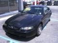 2000 Black Ford Mustang V6 Coupe  photo #2