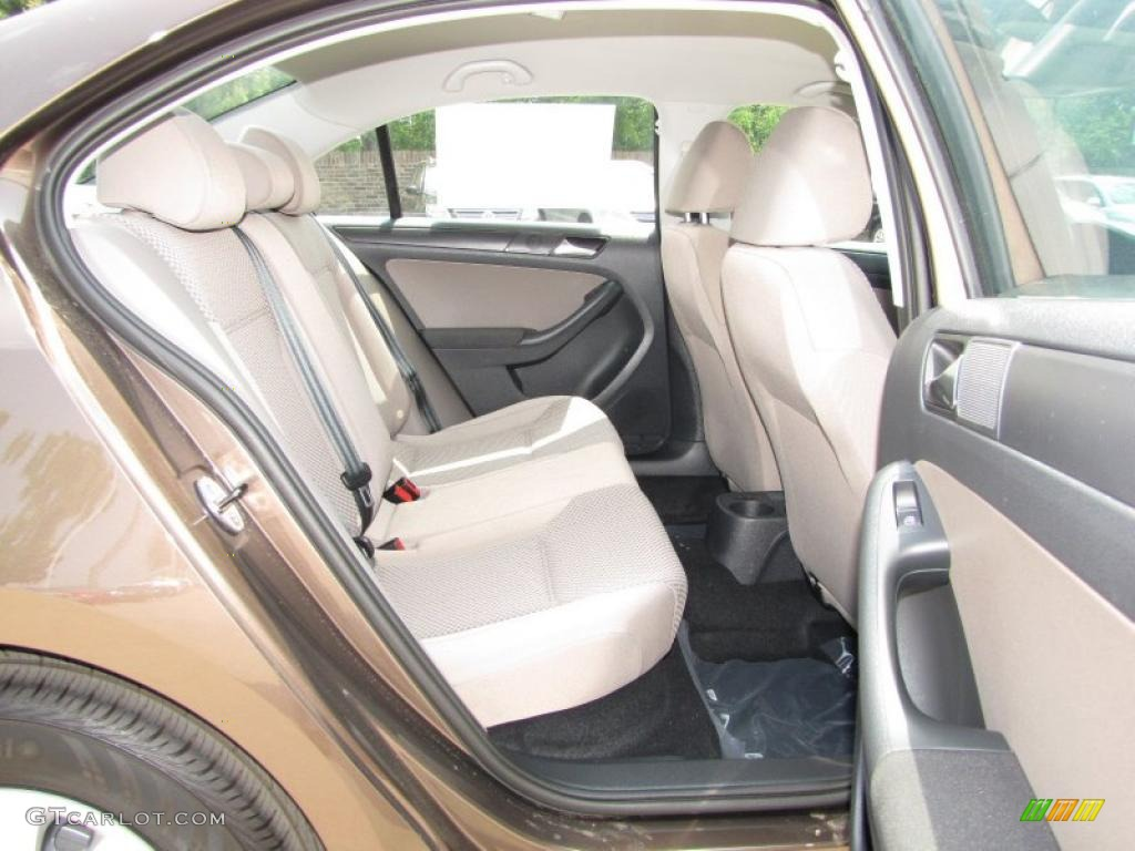 Latte Macchiato Interior 2011 Volkswagen Jetta S Sedan Photo 48359629