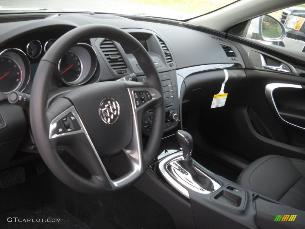 ebony interior 2011 buick regal cxl photo 48361789. Black Bedroom Furniture Sets. Home Design Ideas
