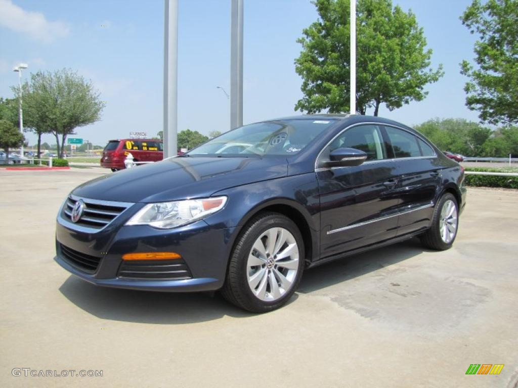 2012 night blue metallic volkswagen cc sport 48328652. Black Bedroom Furniture Sets. Home Design Ideas
