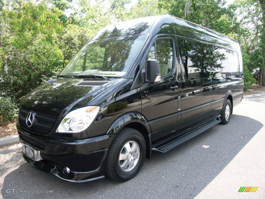 2011 mercedes benz sprinter 2500 high roof passenger for Mercedes benz van conversion