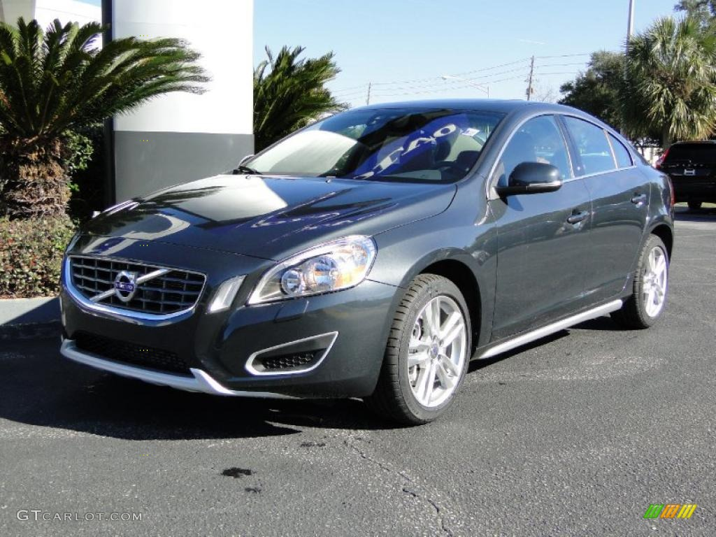 saville grey metallic 2012 volvo s60 t5 exterior photo 48368608. Black Bedroom Furniture Sets. Home Design Ideas