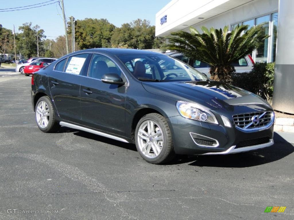saville grey metallic 2012 volvo s60 t5 exterior photo 48368653. Black Bedroom Furniture Sets. Home Design Ideas