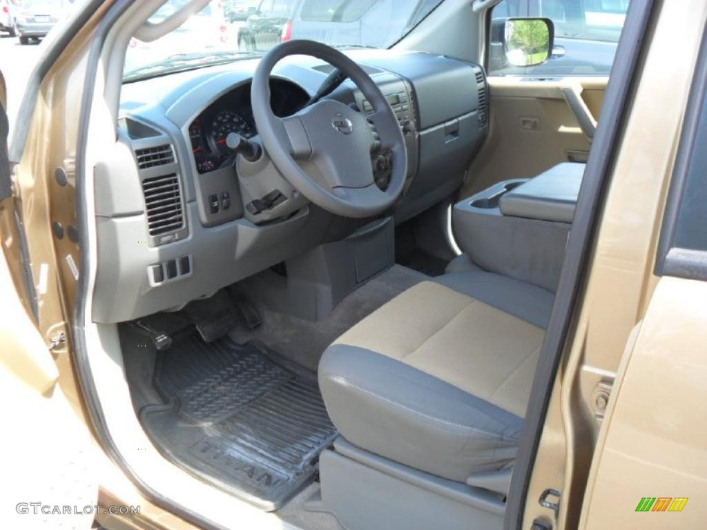 2004 nissan titan xe crew cab interior photo 48371071. Black Bedroom Furniture Sets. Home Design Ideas
