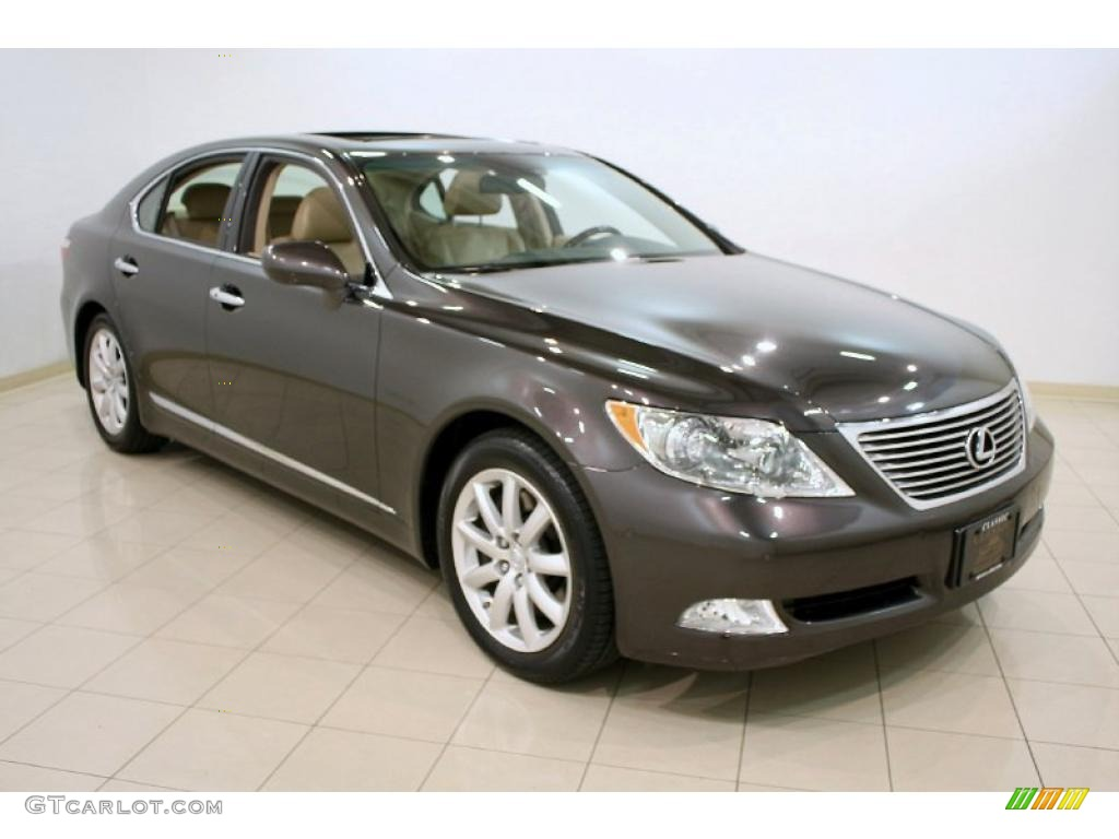 2009 truffle brown mica lexus ls 460 awd 48328826. Black Bedroom Furniture Sets. Home Design Ideas