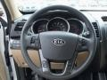 Beige Steering Wheel Photo for 2011 Kia Sorento #48381824