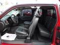 2009 Victory Red Chevrolet Silverado 1500 LTZ Extended Cab 4x4  photo #5