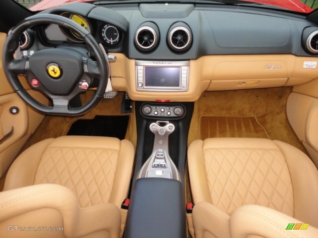 2009 Ferrari California Standard California Model Beige Dashboard