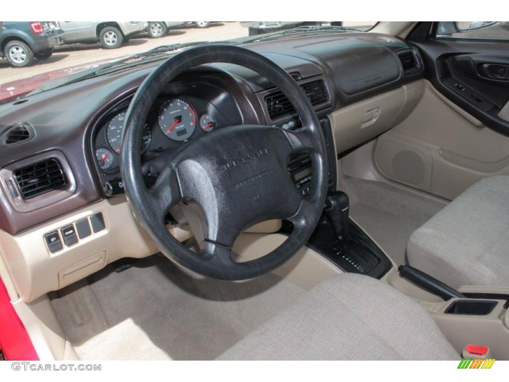 2002 Subaru Forester 2 5 L Interior Photo 48396786