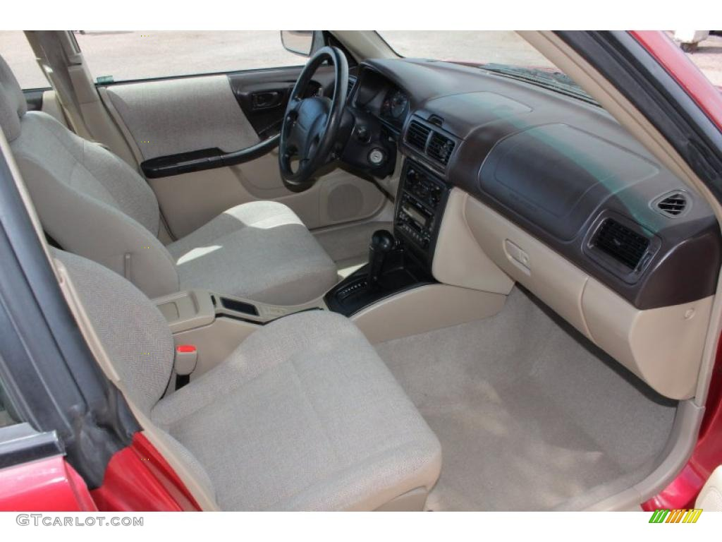 2002 Subaru Forester 2 5 L Interior Photo 48396855
