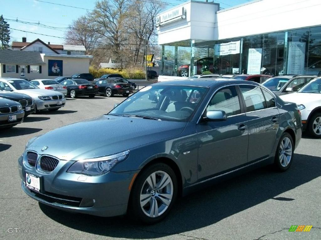 2009 neptune blue metallic bmw 5 series 528i sedan. Black Bedroom Furniture Sets. Home Design Ideas