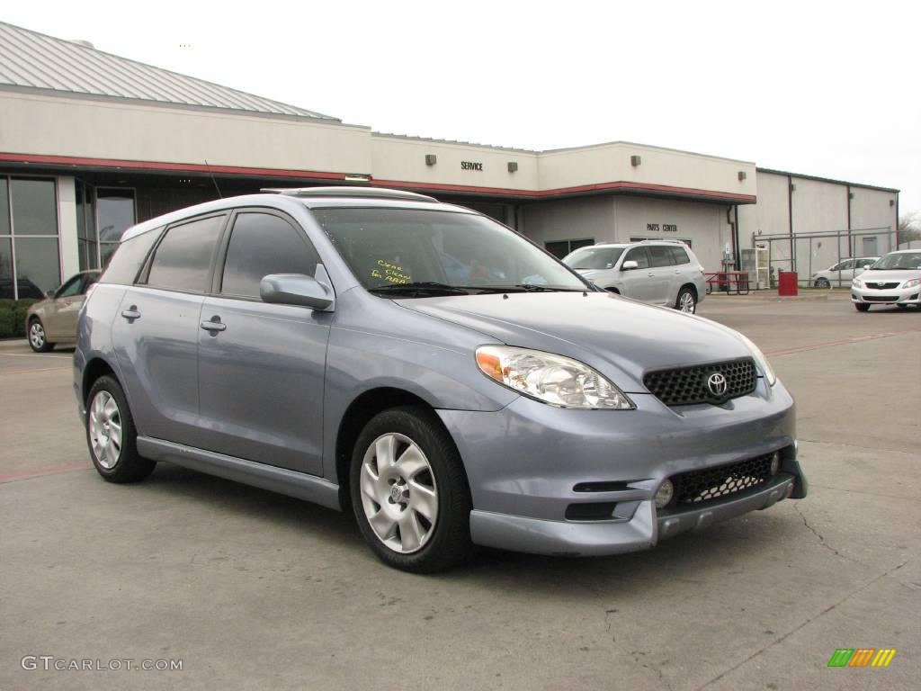 2004 cosmic blue metallic toyota matrix xr 4823551. Black Bedroom Furniture Sets. Home Design Ideas