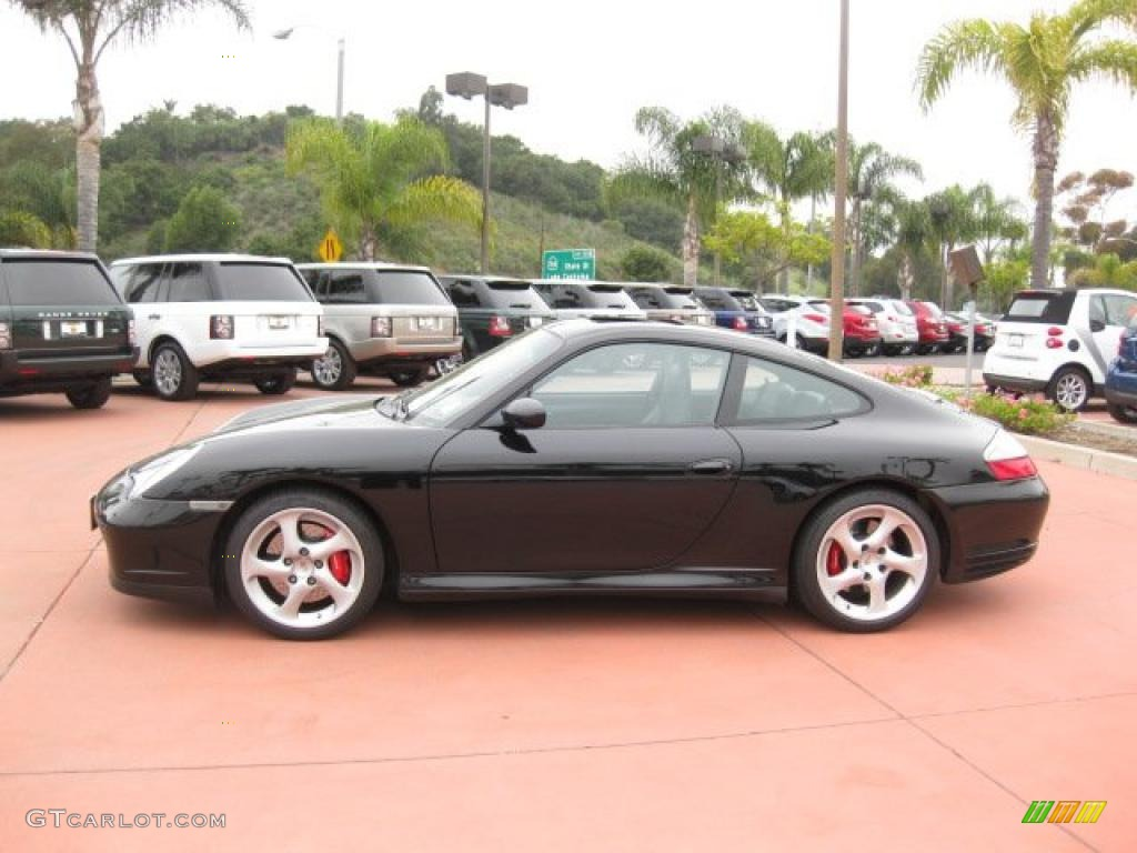 black 2002 porsche 911 carrera 4s coupe exterior photo 48400482. Black Bedroom Furniture Sets. Home Design Ideas