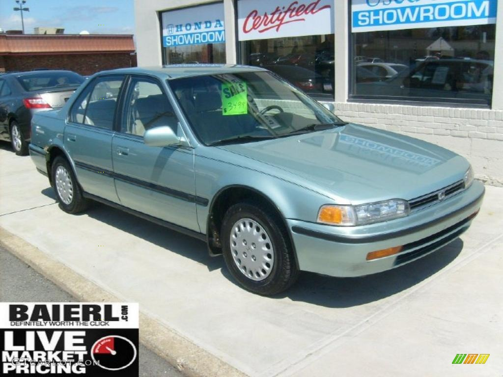 Honda Of Concord >> 1992 Opal Green Metallic Honda Accord LX Sedan #48387238 ...