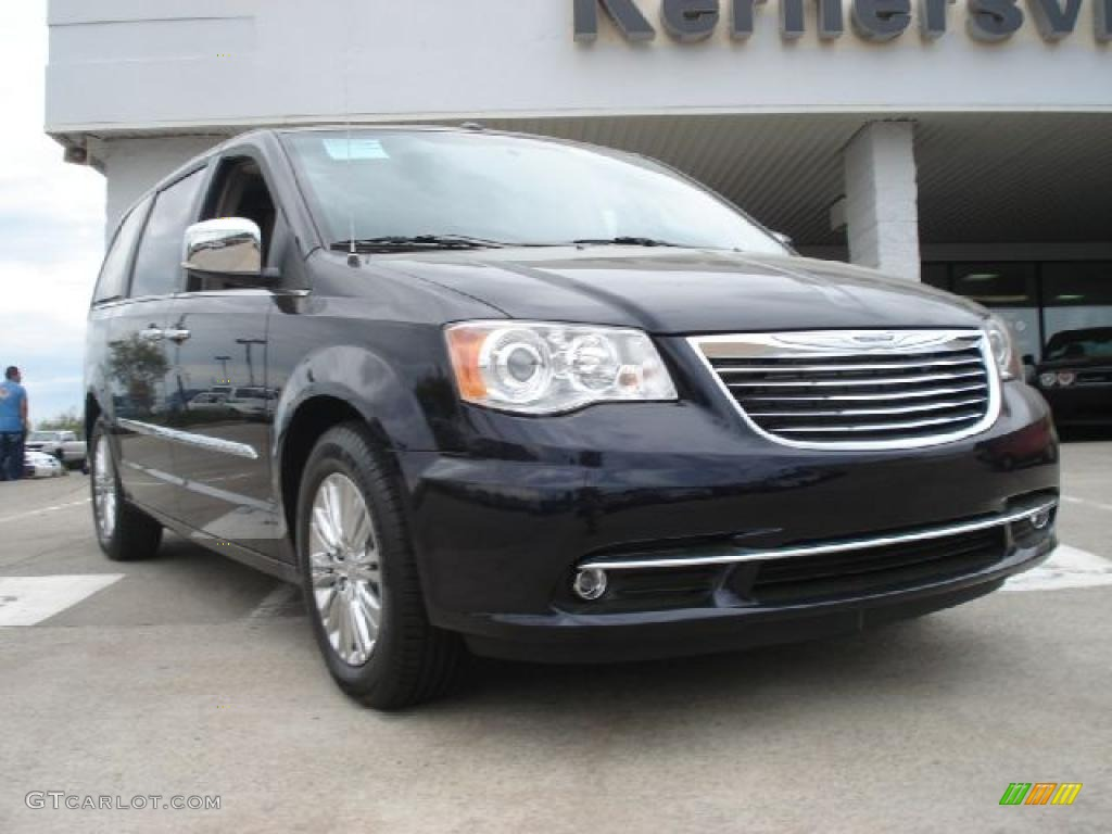 2011 blackberry pearl chrysler town country limited 48387699 car color galleries. Black Bedroom Furniture Sets. Home Design Ideas