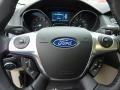 2012 White Platinum Tricoat Metallic Ford Focus SEL 5-Door  photo #19