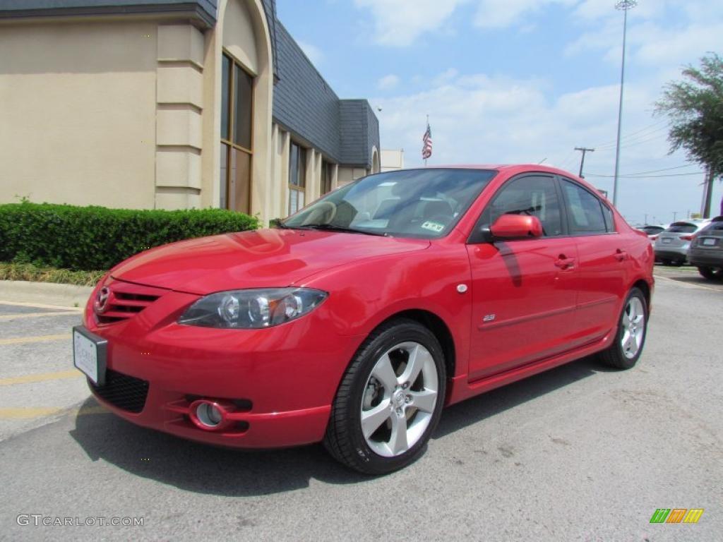 Velocity red mica 2005 mazda mazda3 s sedan exterior photo for Mazda 3 exterior colors