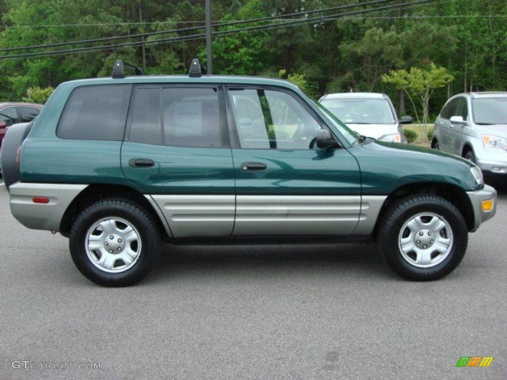 1998 Rav4 Custom >> Deep Jewel Green 2000 Toyota RAV4 Standard RAV4 Model Exterior Photo #48435327 | GTCarLot.com