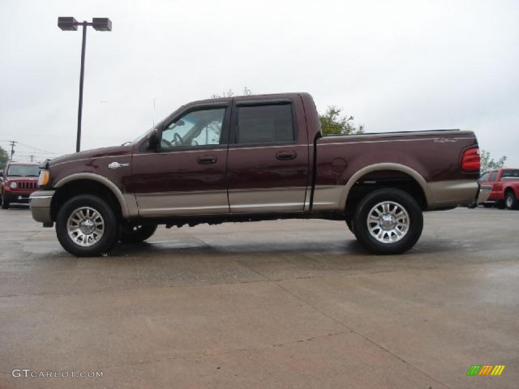 2001 chestnut metallic ford f150 king ranch supercrew 4x4 48431135. Cars Review. Best American Auto & Cars Review