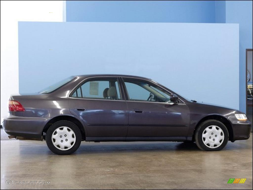 Raisin Pearl 1999 Honda Accord Lx Sedan Exterior Photo