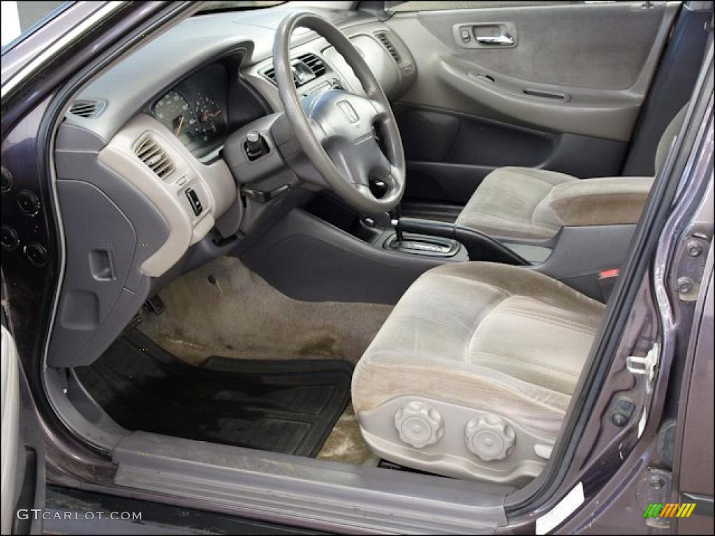 gray interior 1999 honda accord lx sedan photo 48438636. Black Bedroom Furniture Sets. Home Design Ideas