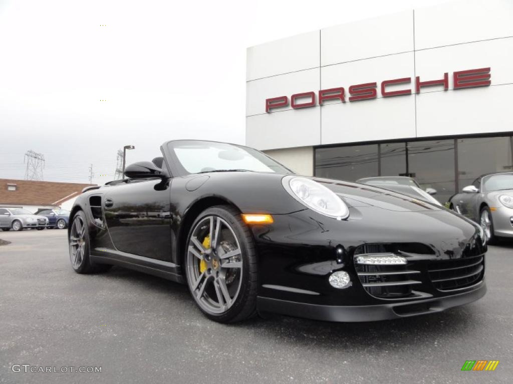 black 2011 porsche 911 turbo s cabriolet exterior photo 48440583. Black Bedroom Furniture Sets. Home Design Ideas