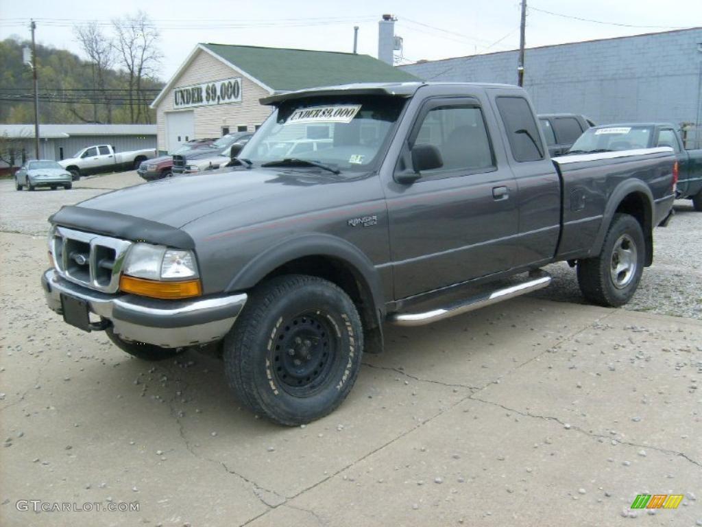 1998 medium platinum metallic ford ranger xlt extended cab 4x4 48431065 car. Black Bedroom Furniture Sets. Home Design Ideas