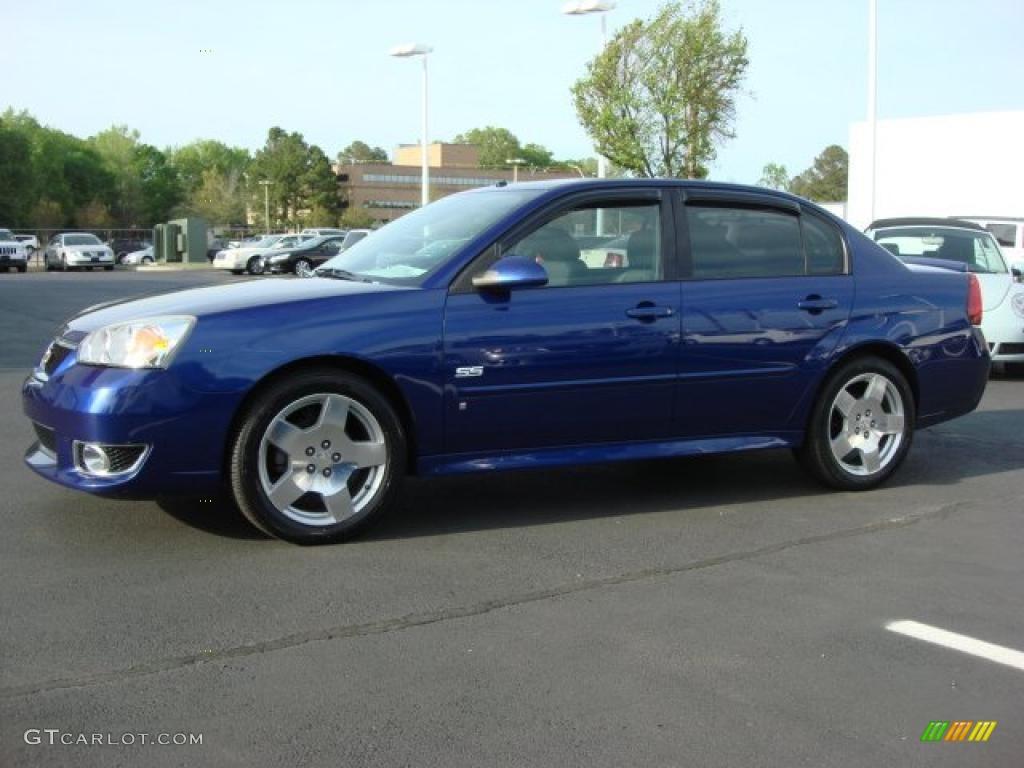 dark blue metallic 2006 chevrolet malibu ss sedan exterior. Black Bedroom Furniture Sets. Home Design Ideas