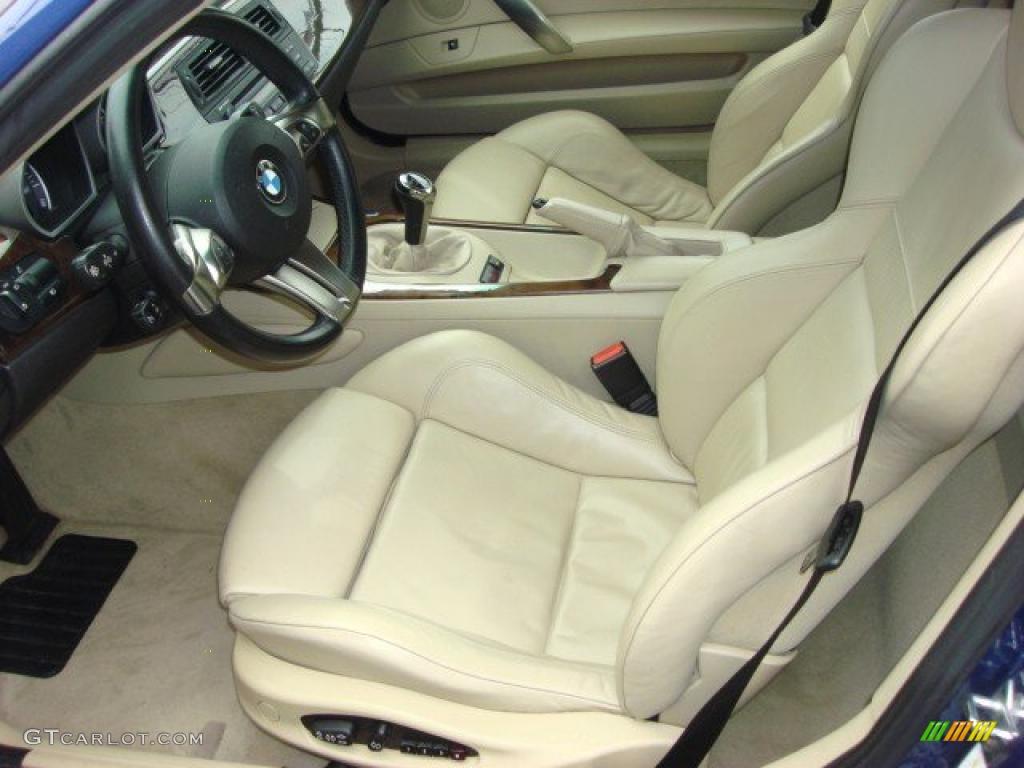2007 Bmw Z4 3 0si Coupe Interior Photo 48449124