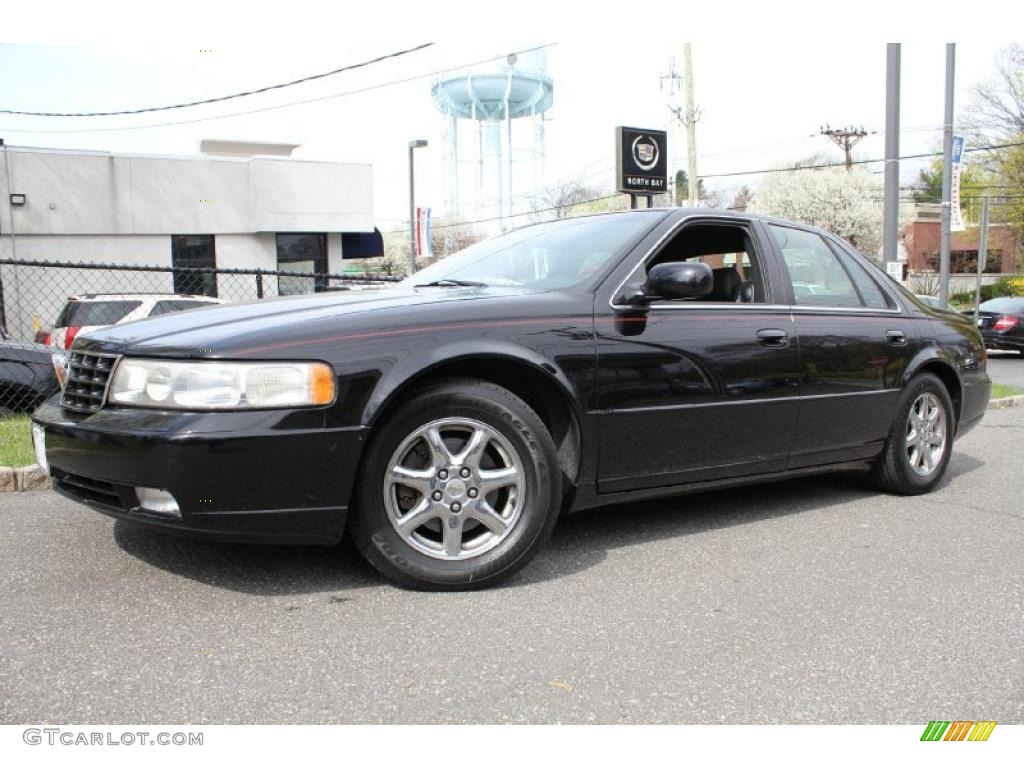 Sable Black 2000 Cadillac Seville Sts Exterior Photo