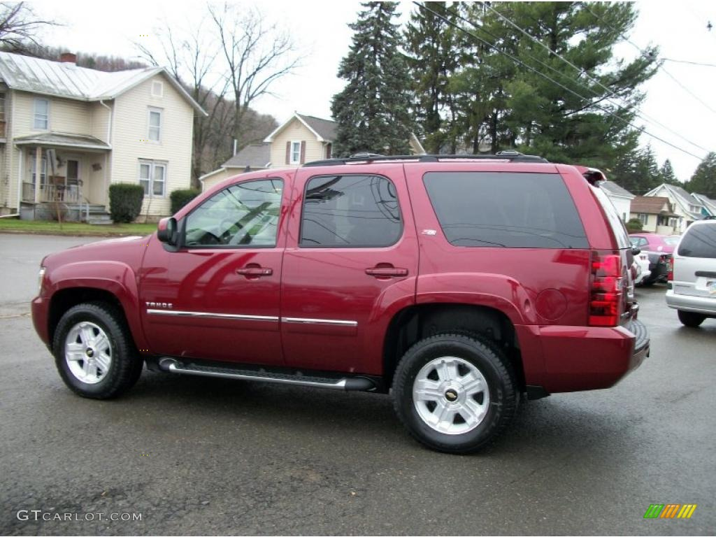 Red jewel tintcoat 2011 chevrolet tahoe z71 4x4 exterior photo 48453940 gtcarlot com