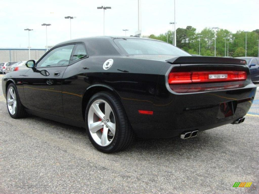 Brilliant black crystal pearl 2010 dodge challenger srt8 exterior photo 48454432