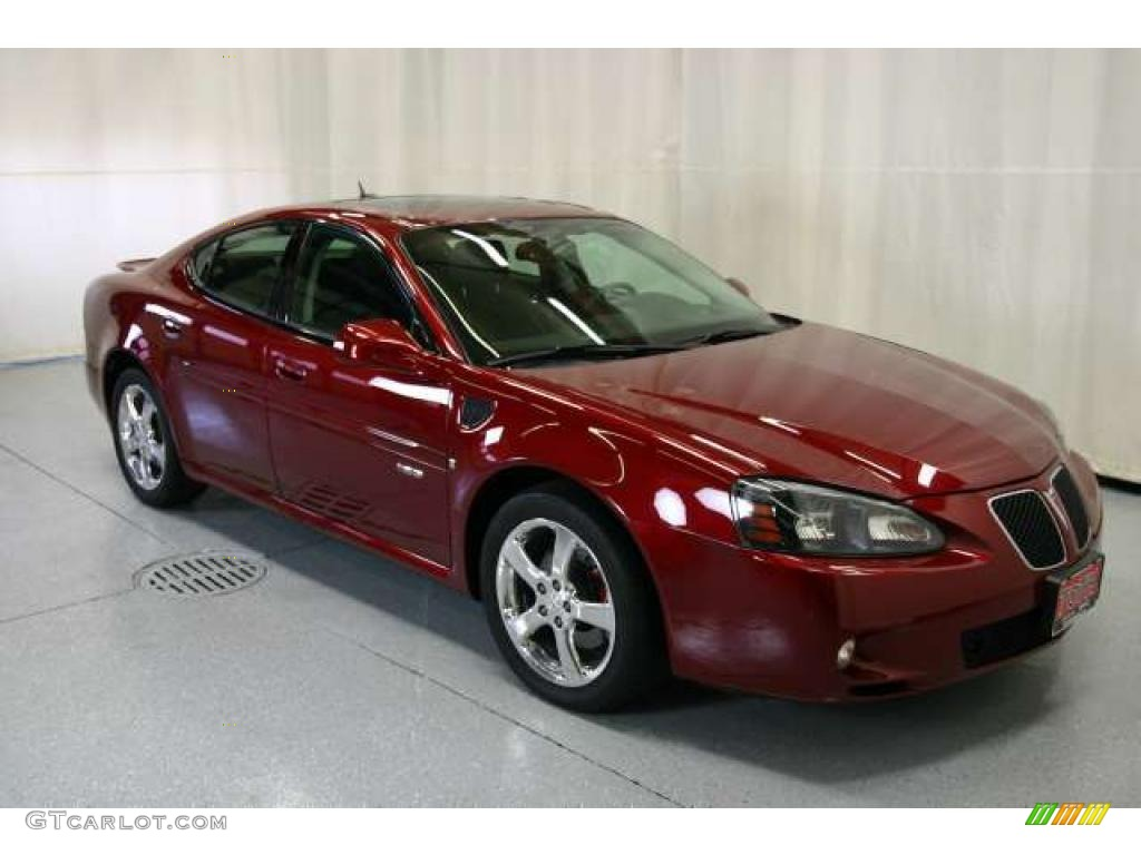2007 red jewel tintcoat pontiac grand prix gxp sedan 48456640 car color galleries. Black Bedroom Furniture Sets. Home Design Ideas