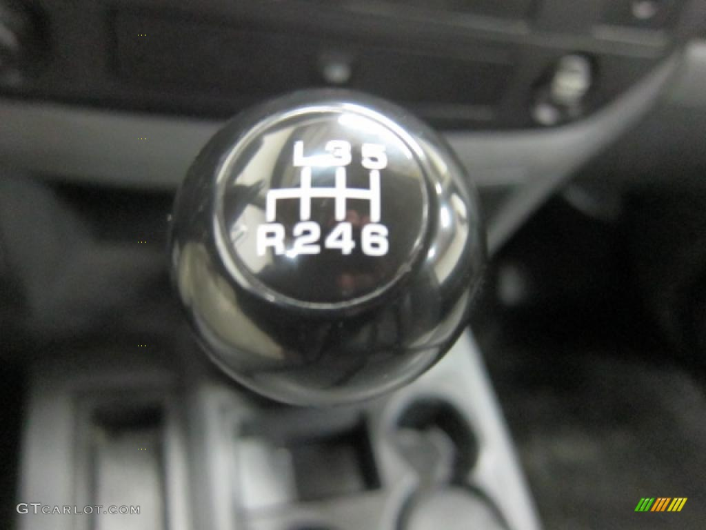 2008 Dodge Ram 3500 ST Regular Cab Chassis Transmission Photos