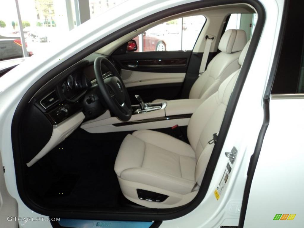 2012 BMW 7 Series 750Li Sedan interior Photo #48470298   GTCarLot.com