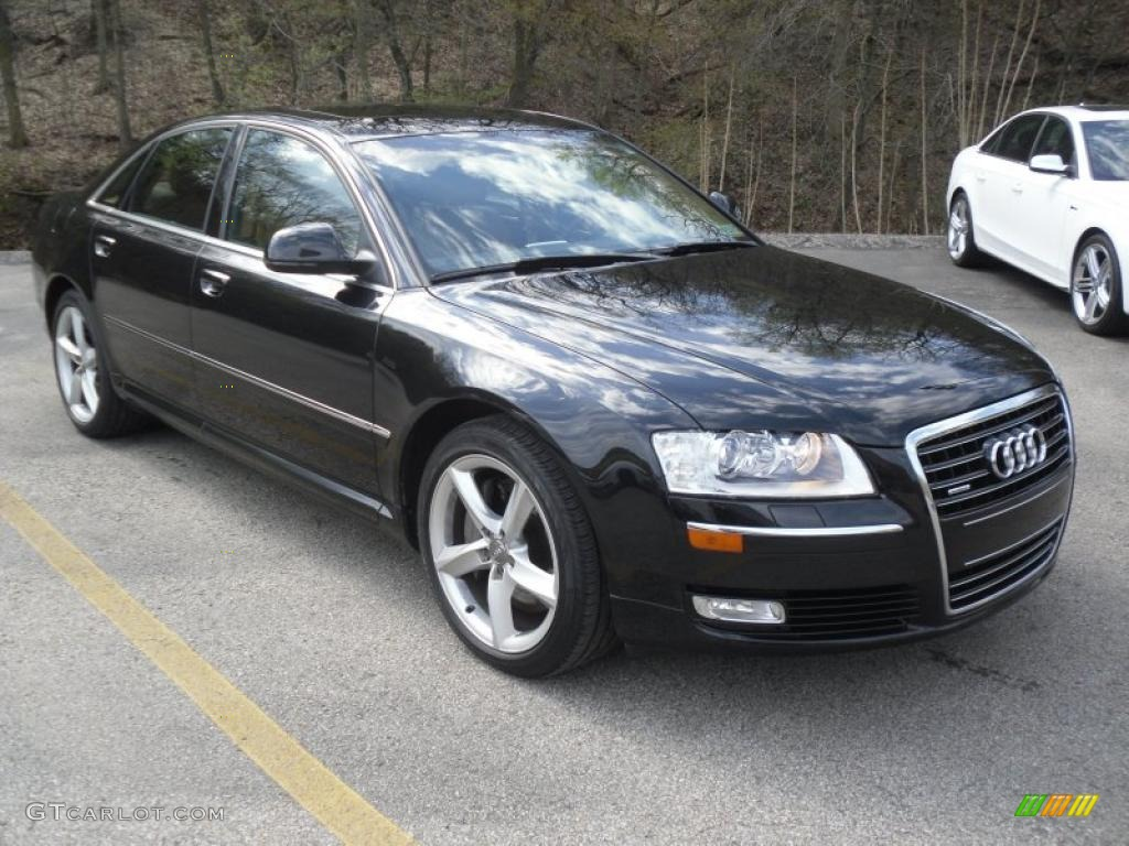 2008 brilliant black audi a8 4 2 quattro 48460569 car color galleries. Black Bedroom Furniture Sets. Home Design Ideas