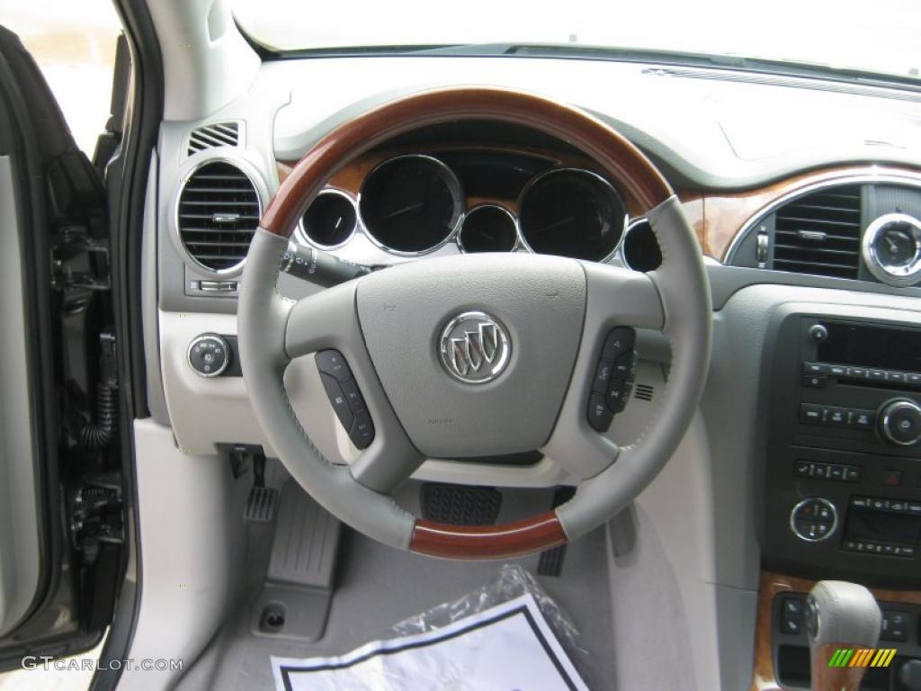 2011 Silver Green Metallic Buick Enclave Cxl 48460808 Photo 10 Car Color