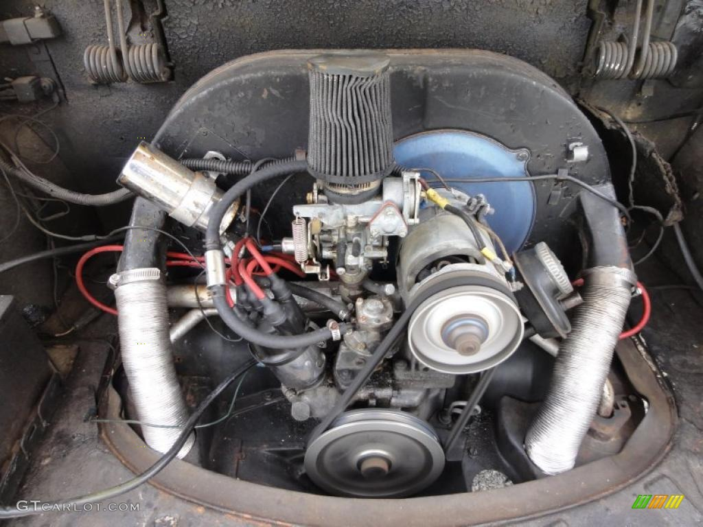 1971 Volkswagen Karmann Ghia Coupe 1 6 Liter Air Cooled