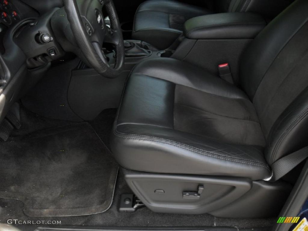 Chevrolet Trailblazer Interior Ebony Interior 2006 Chevrolet