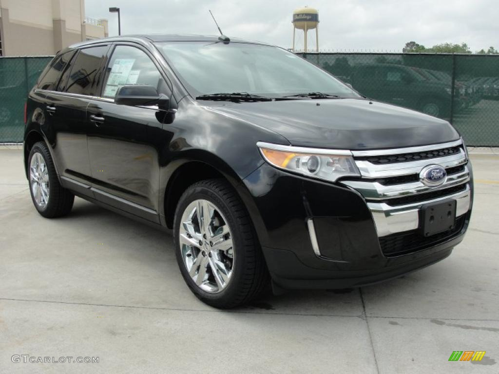 2011 tuxedo black metallic ford edge limited 48460705 car color galleries. Black Bedroom Furniture Sets. Home Design Ideas
