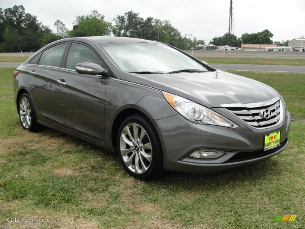 harbor gray metallic 2011 hyundai sonata limited 2 0t exterior photo 48479964. Black Bedroom Furniture Sets. Home Design Ideas