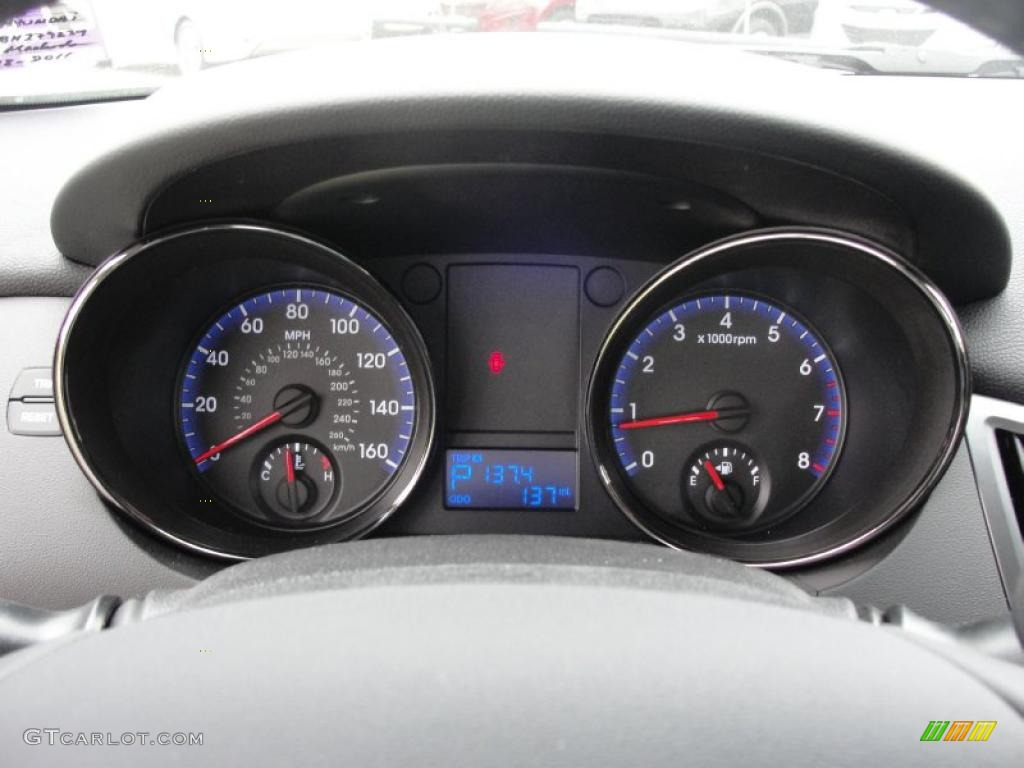 2011 Hyundai Genesis Coupe 2 0t Gauges Photo 48483909