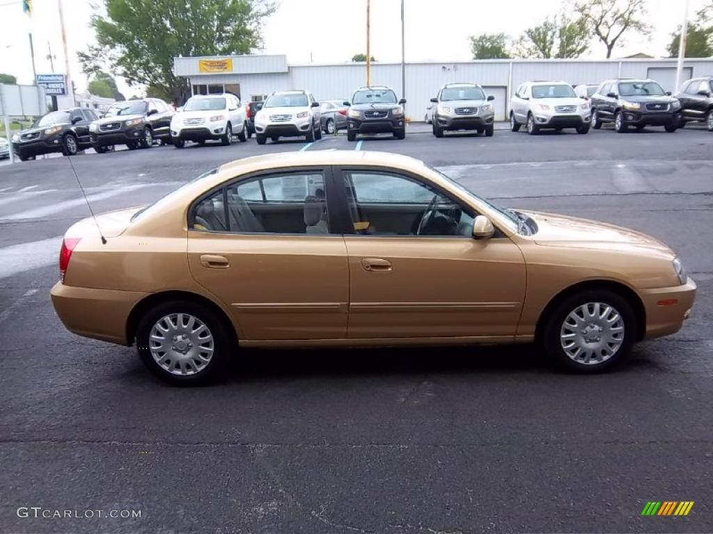 Hazelnut 2004 Hyundai Elantra Gls Sedan Exterior Photo