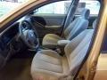 Beige 2004 Hyundai Elantra Interiors