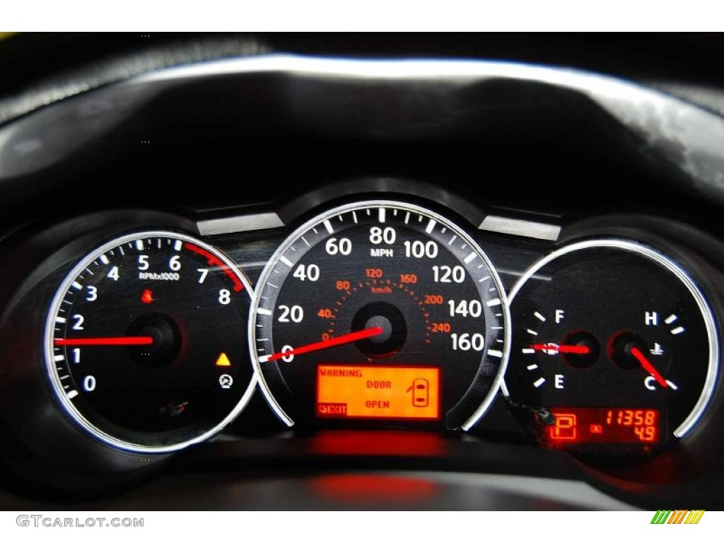 2010 Nissan Altima 2 5 S Coupe Gauges Photo 48484419 Gtcarlot Com